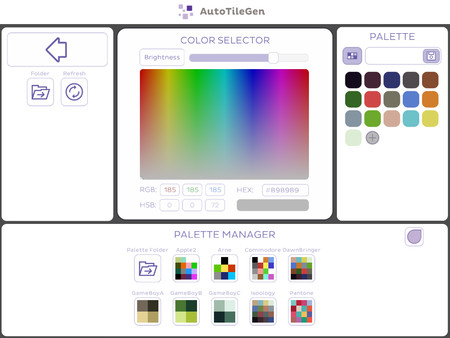 Скриншот из AutoTileGen