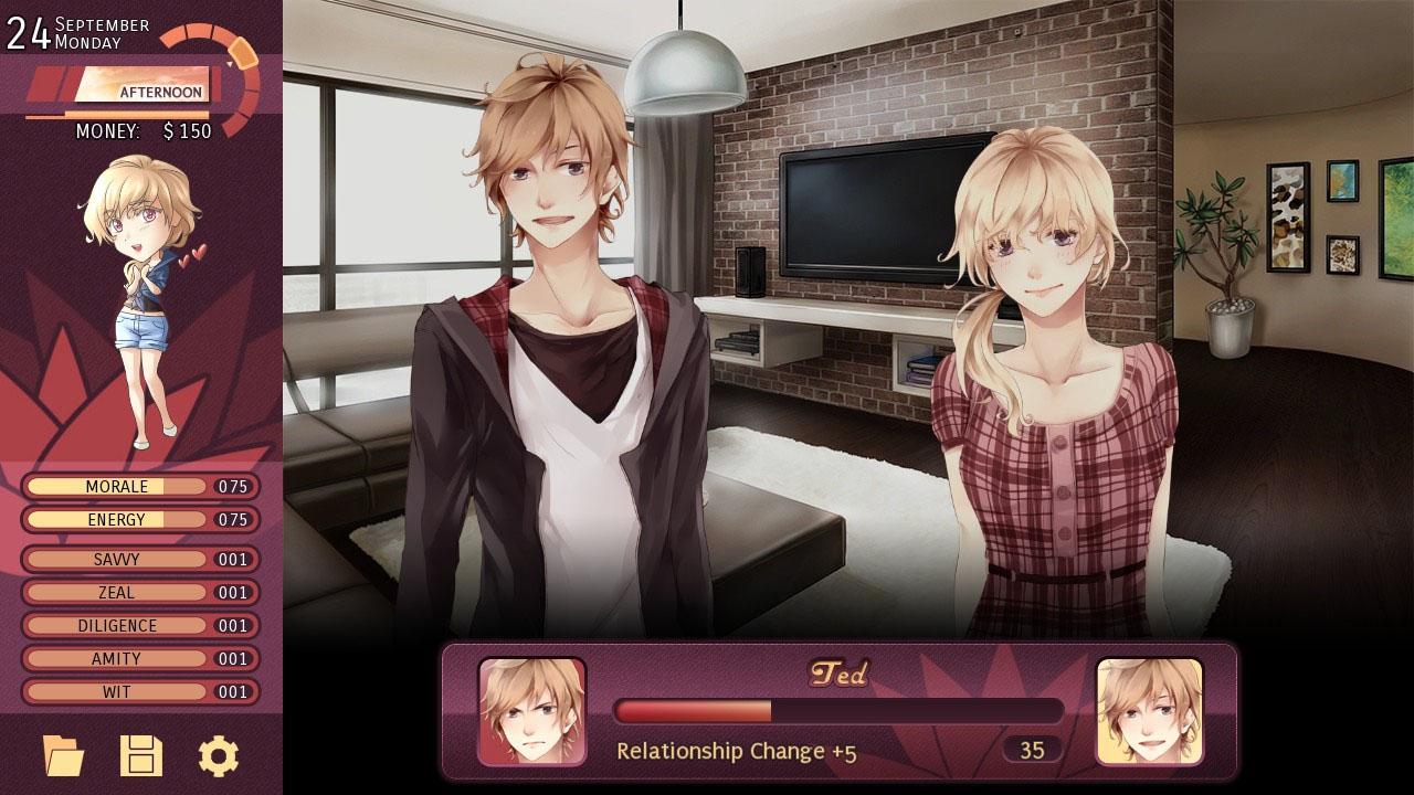 Online otome dating sim
