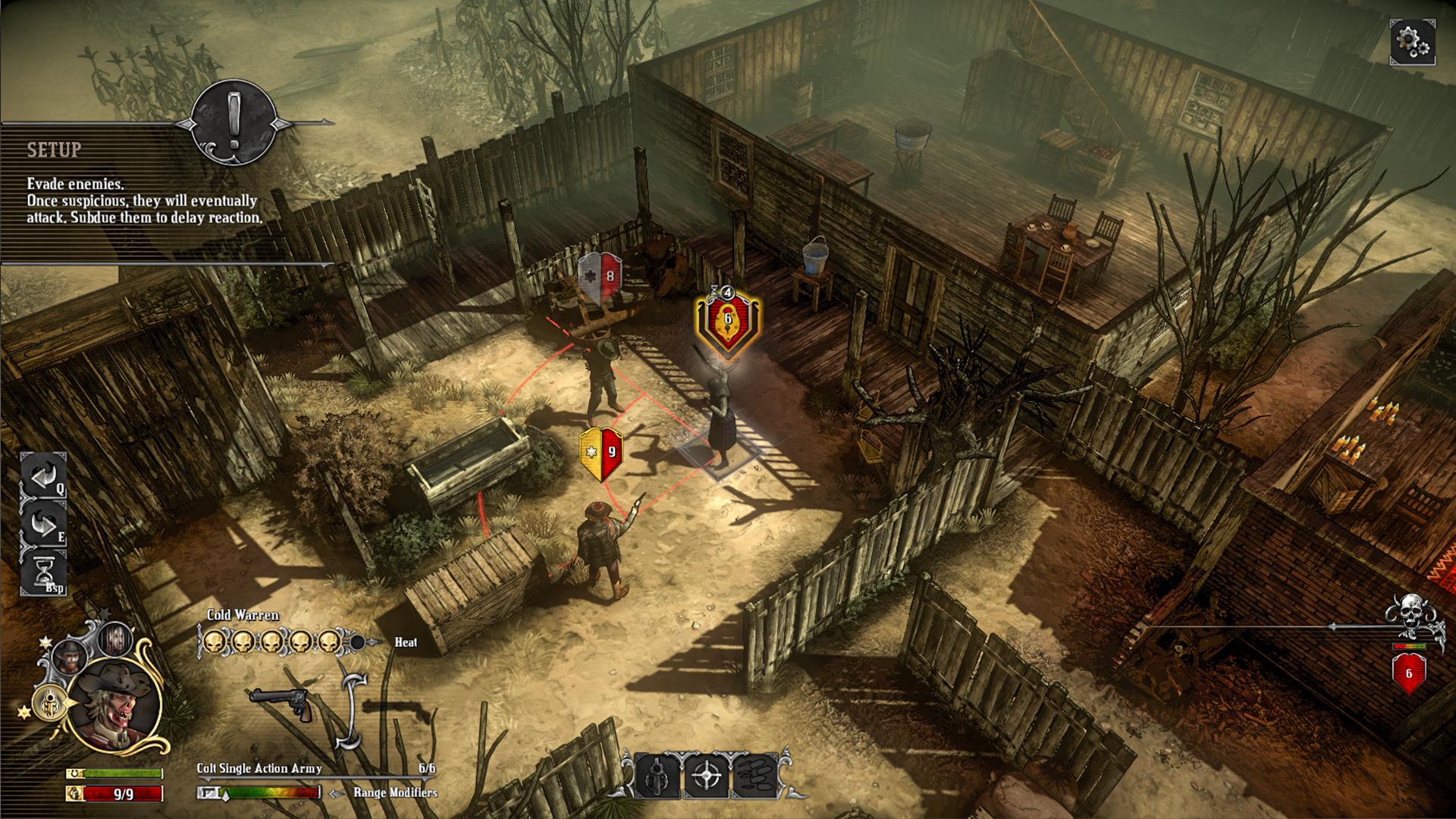 Hard West + Scars of Freedom screenshot 2