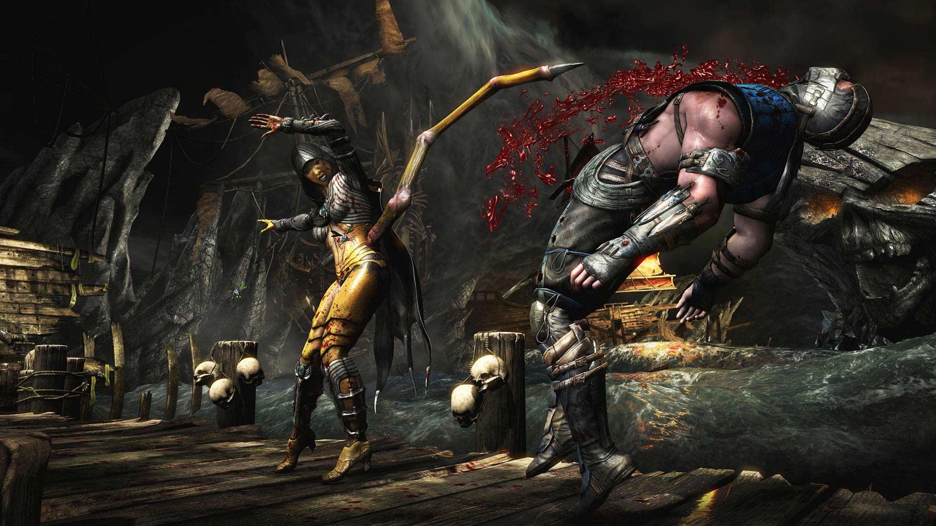 Hasil gambar untuk gambar game mortal kombat x