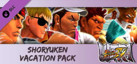 USFIV: Shoryuken Vacation Pack