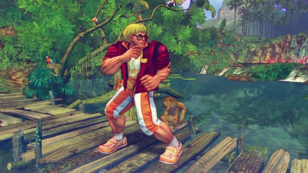 скриншот USFIV: Shoryuken Vacation Pack 0