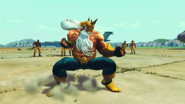 скриншот USFIV: Shoryuken Vacation Pack 1