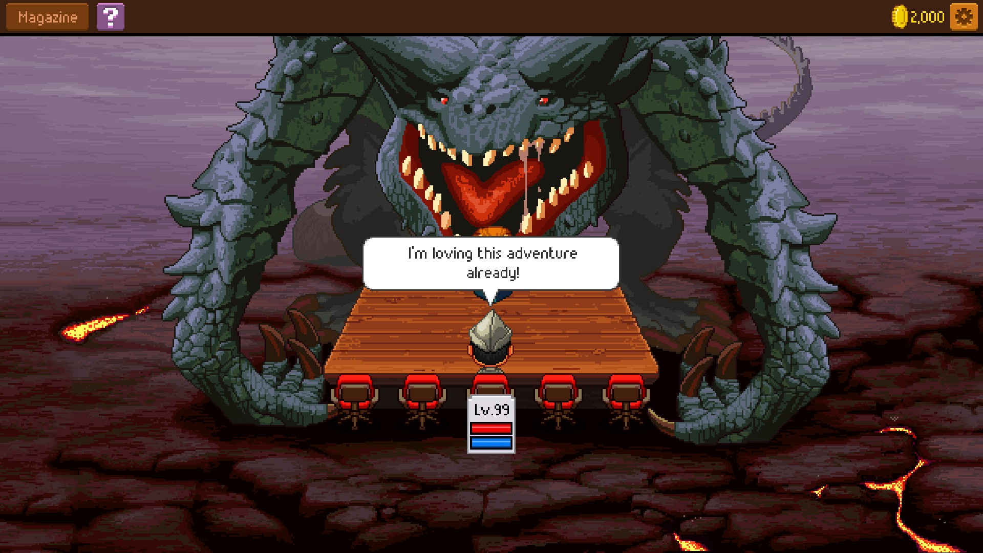 knights of pen and paper apk mod