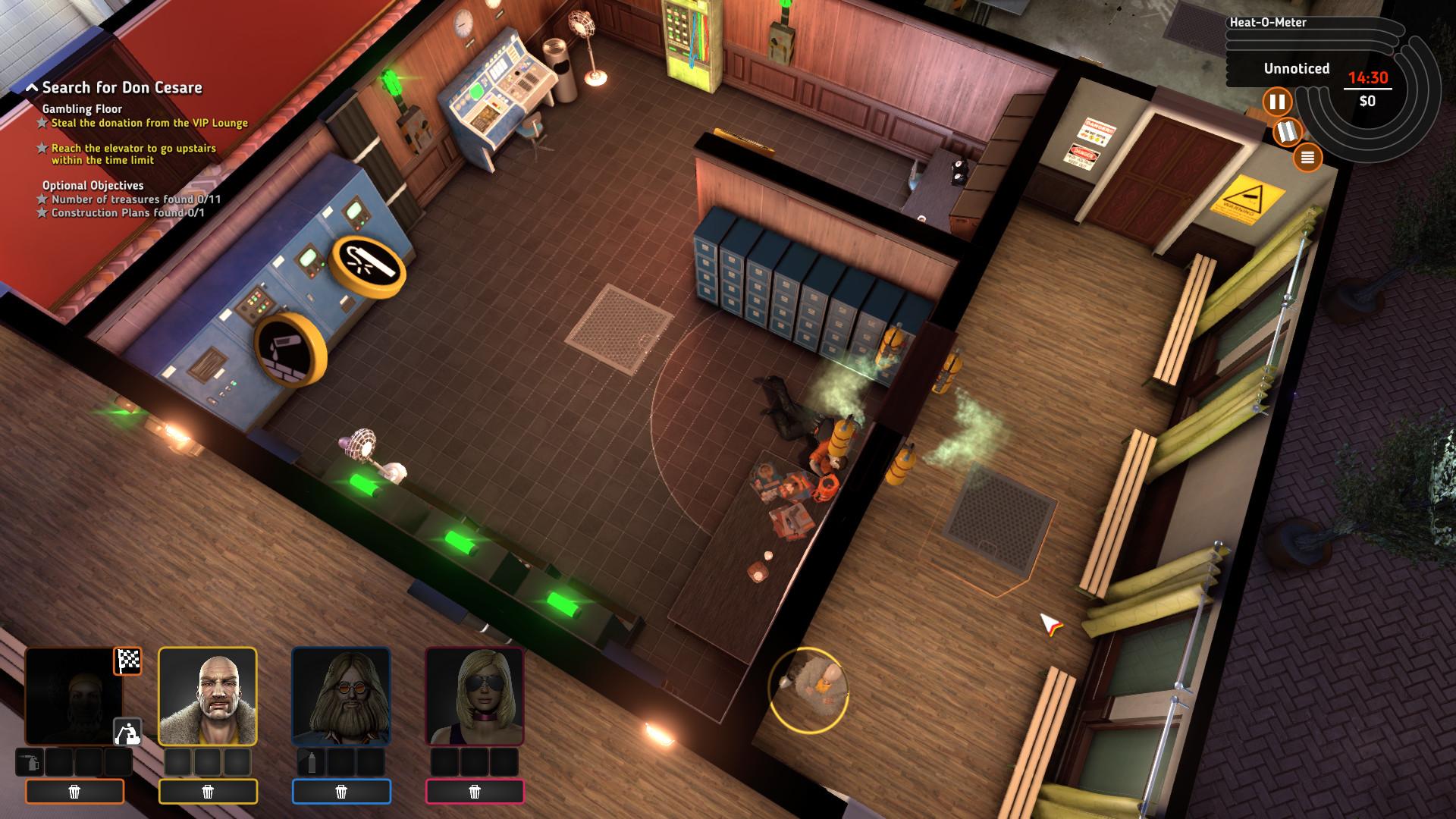 Crookz: The Big Heist screenshot 3