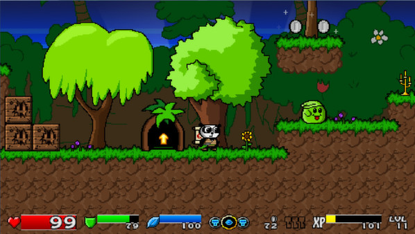 Super Panda Adventures Screenshot