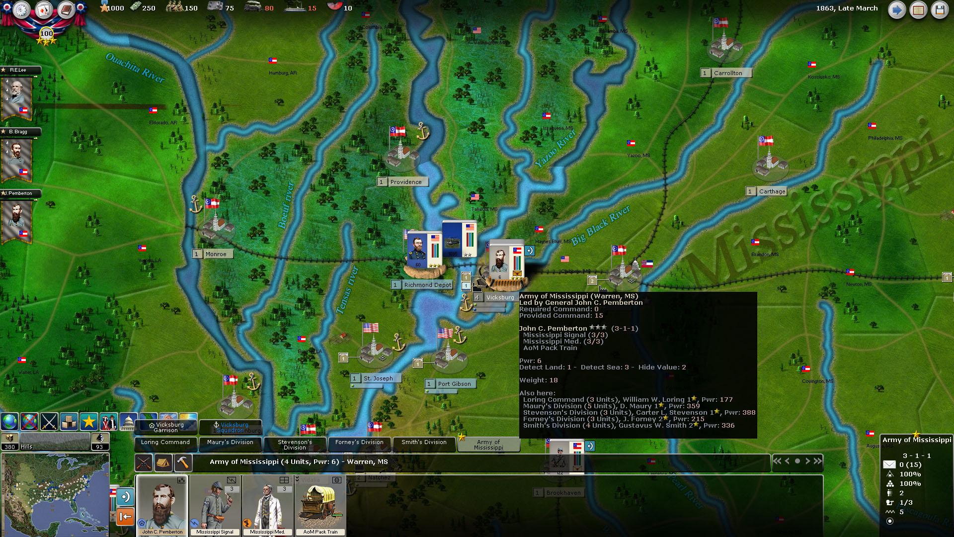 Screenshot of Civil War 2