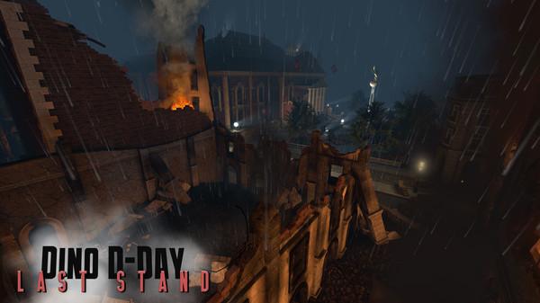 скриншот Dino D-Day: Last Stand DLC 1