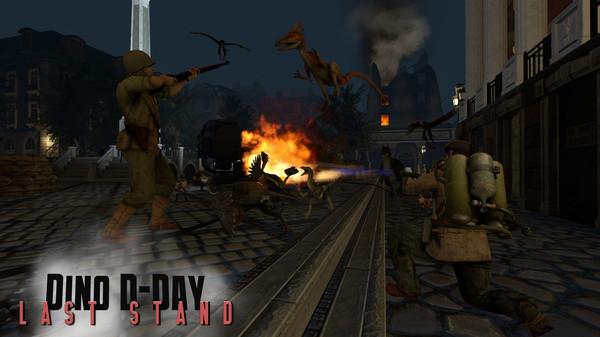 скриншот Dino D-Day: Last Stand DLC 2
