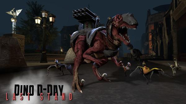 скриншот Dino D-Day: Last Stand DLC 0