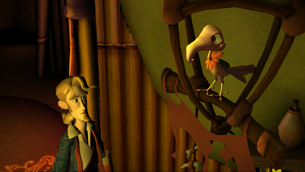Screenshot of Tales of Monkey Island: Chapter 1 - Launch of the Screaming Narwhal