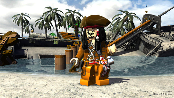 Screenshot of LEGO® Pirates of the Caribbean The Video Game