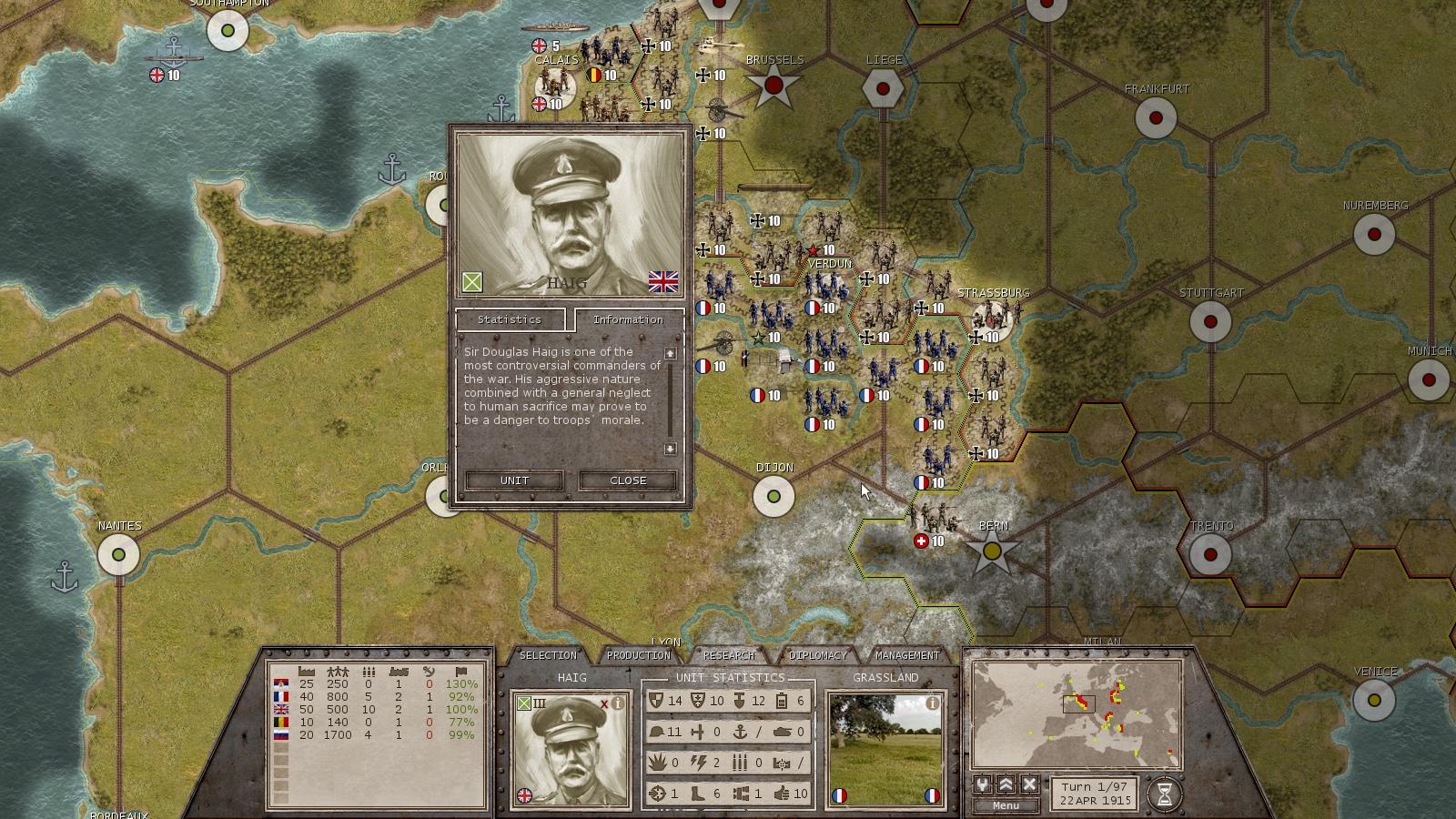 Commander: The Great War Screenshot 2