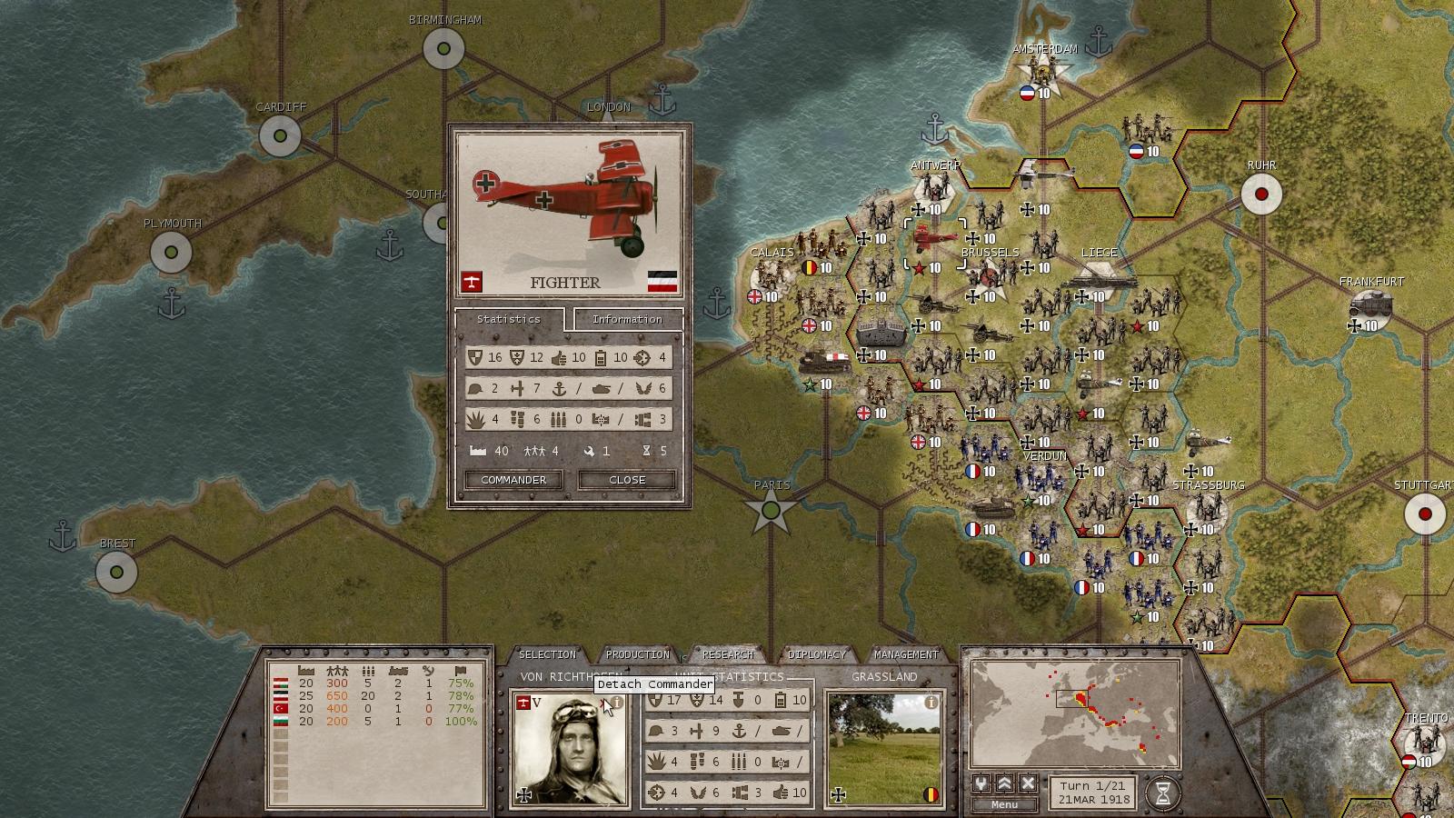 Commander: The Great War Screenshot 1