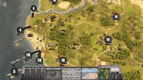 Order of Battle World War II Red Star ScreenShot 1