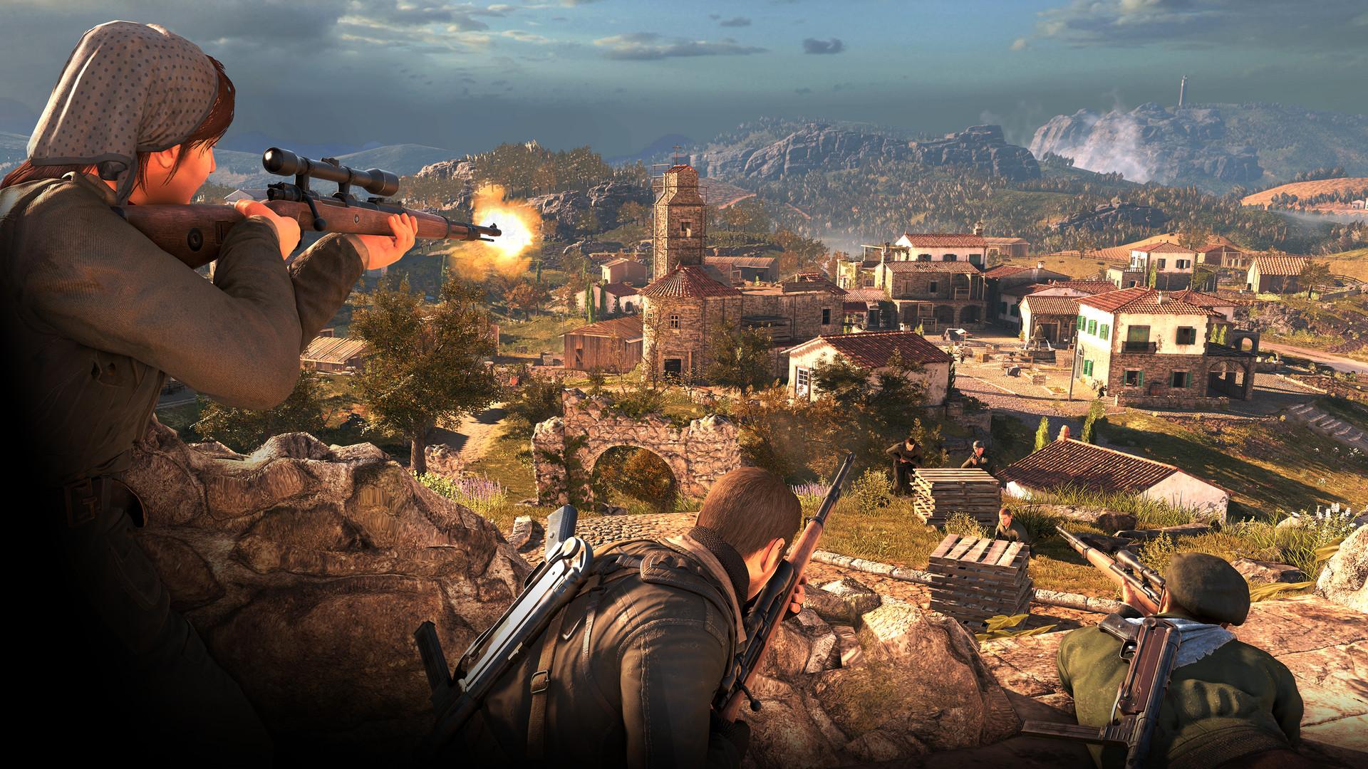 Sniper Elite 4 : Italia {v1 4 1 + 10 DLC's + Revolt MP Fix V4