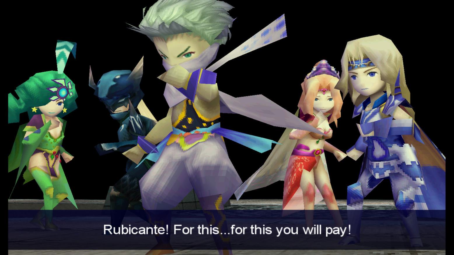 Carte Final Fantasy 4 Rubicante !!!