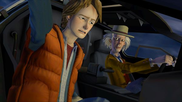 скриншот Back to the Future: The Game 3