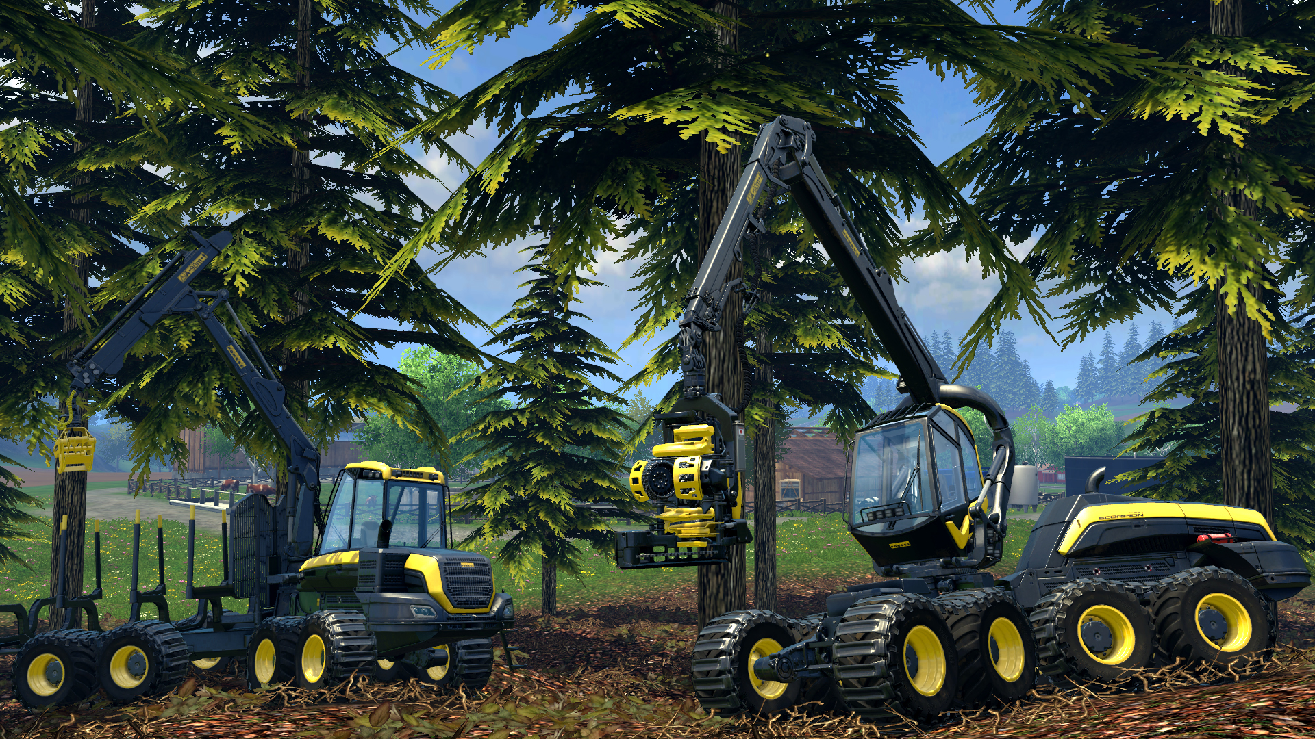 Farming Simulator 15 ESPAÑOL XBOX 360 (Region FREE) (COMPLEX) 5