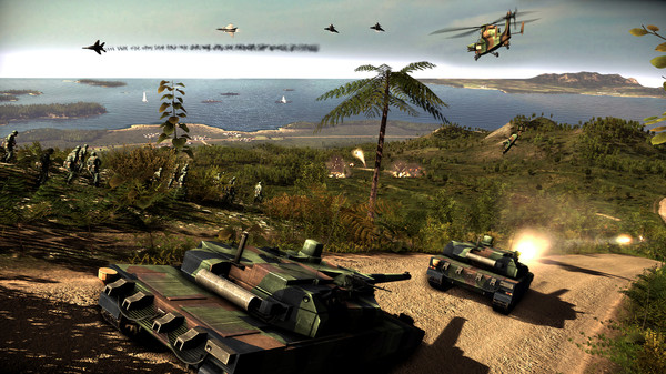 скриншот Wargame Red Dragon - The Millionth Mile 4