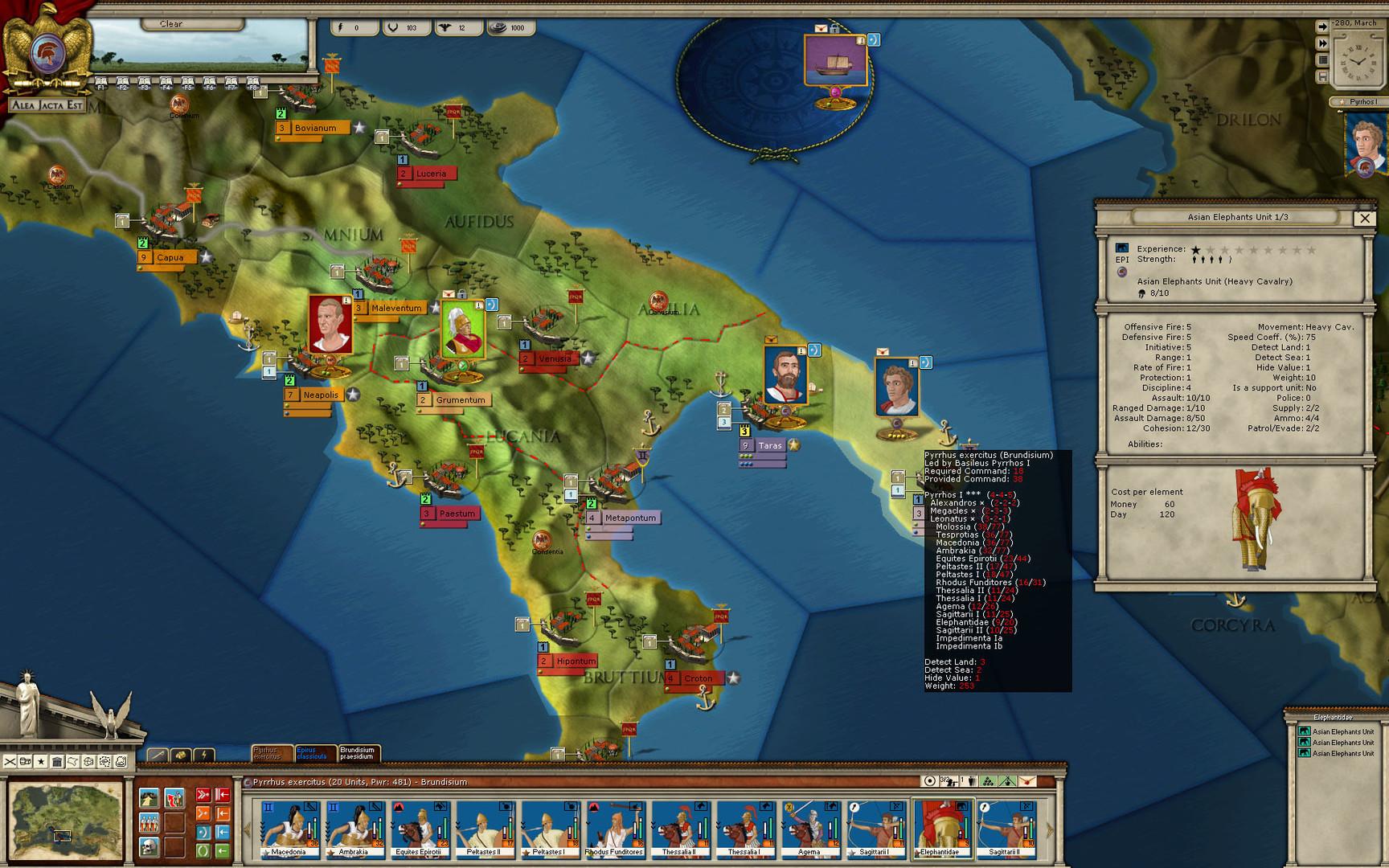 Alea Jacta Est  Birth Of Rome On Steam