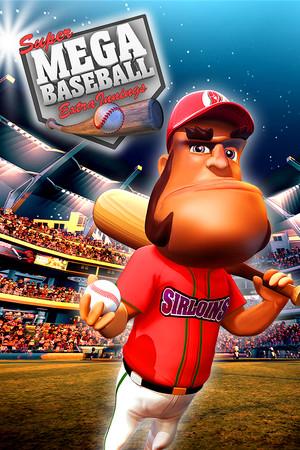 Super Mega Baseball: Extra Innings poster image on Steam Backlog