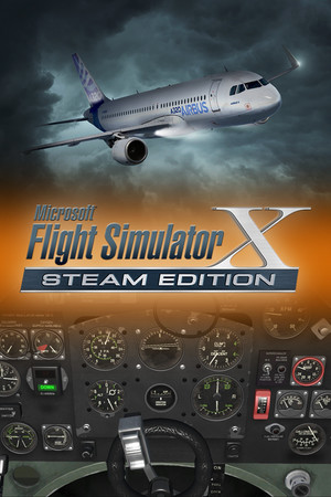 Microsoft Flight Simulator X: Steam Edition poster image on Steam Backlog
