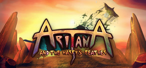 Aritana and the Harpy's Feather cover art