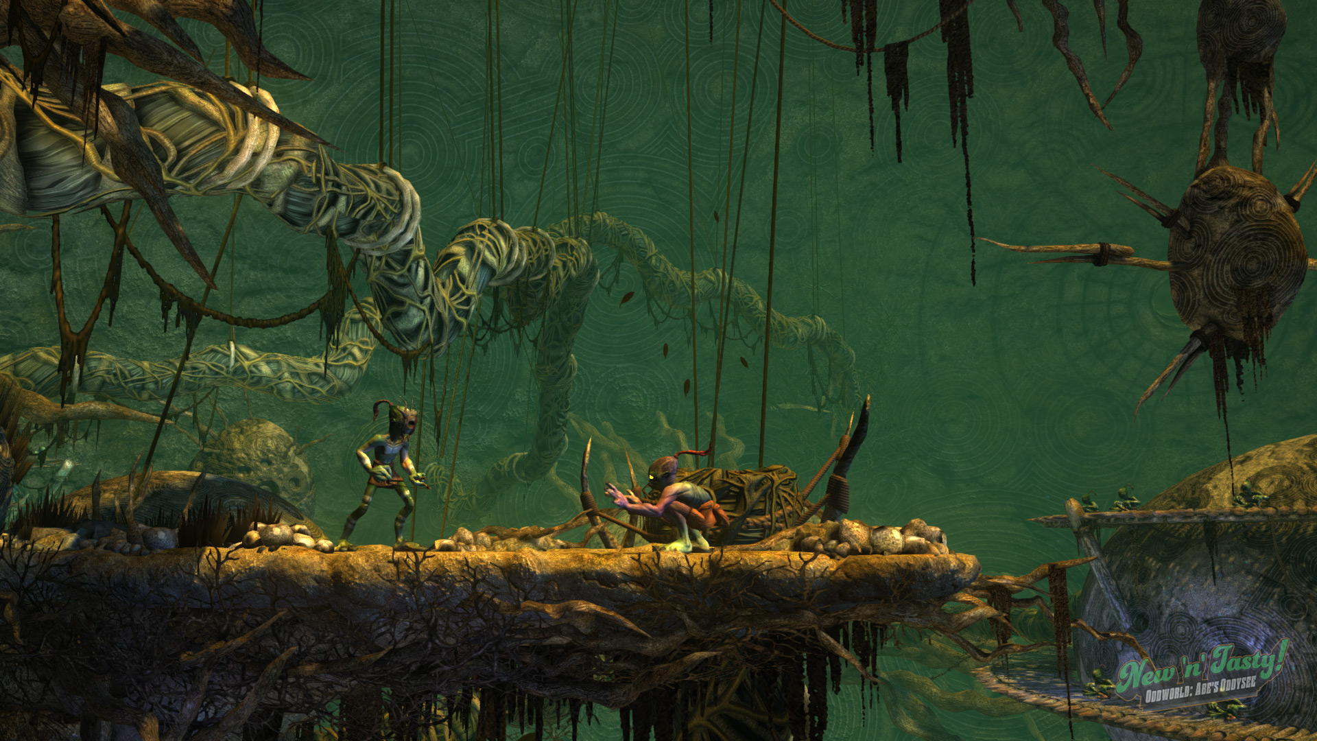 Oddworld: New 'n' Tasty on Steam on