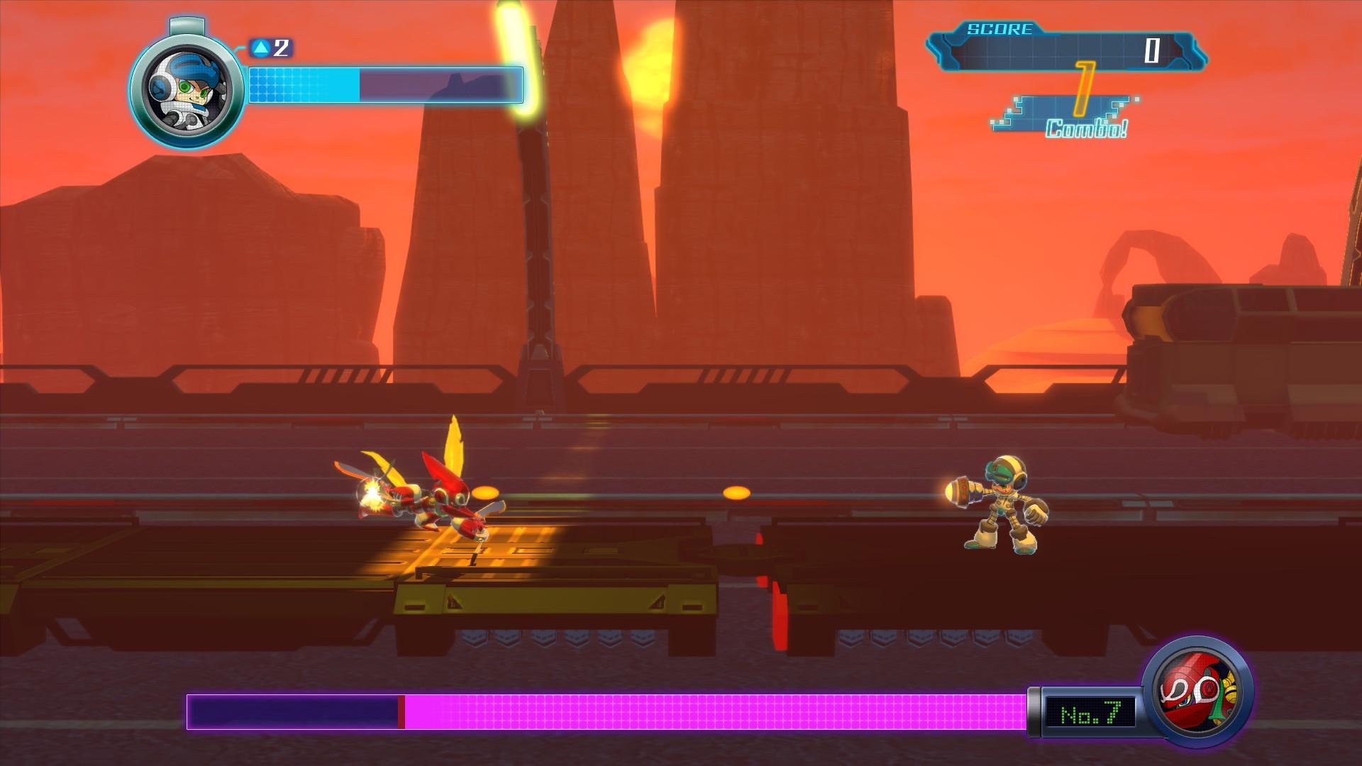 Mighty No. 9 Screenshot 2
