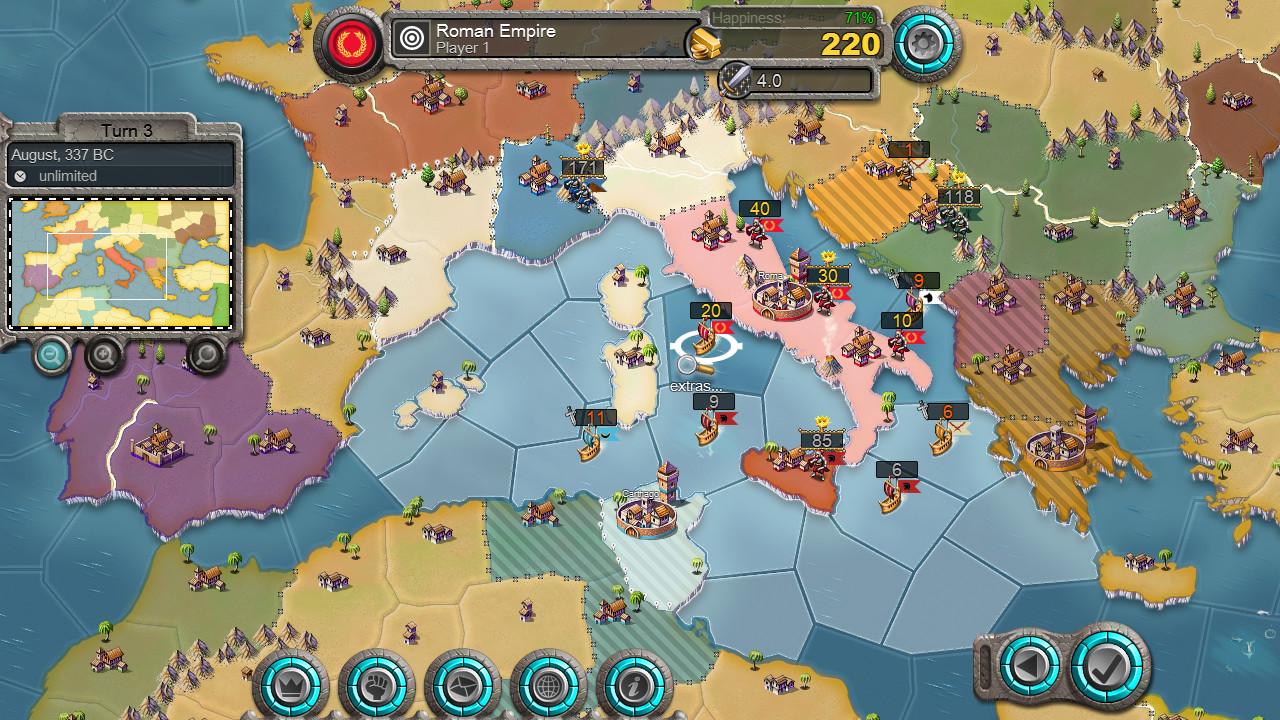 Age of Conquest IV บน Steam