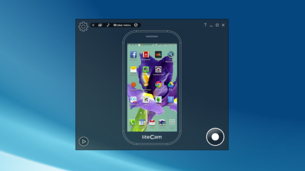 Скриншот из liteCam Android: No Root Android Screen Recorder
