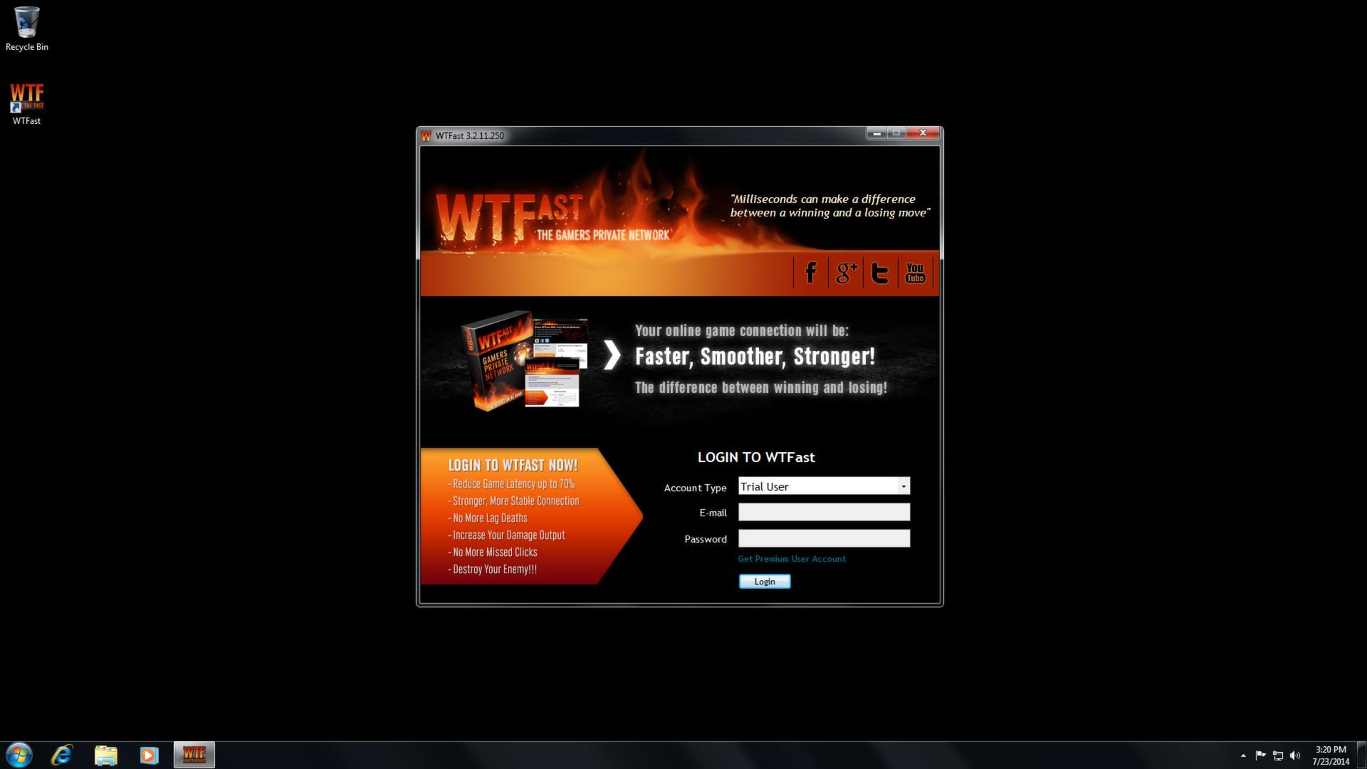 WTFast Gamers Private Network (GPN) - SteamStat ru