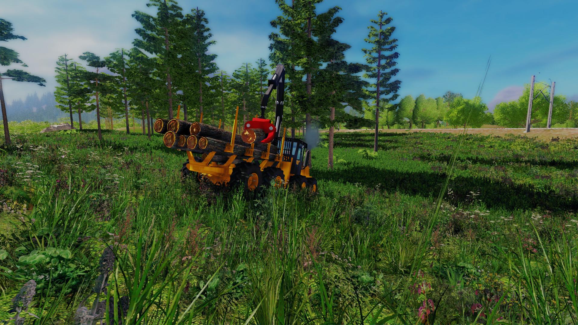 Professional Lumberjack 2015 Screenshot 3