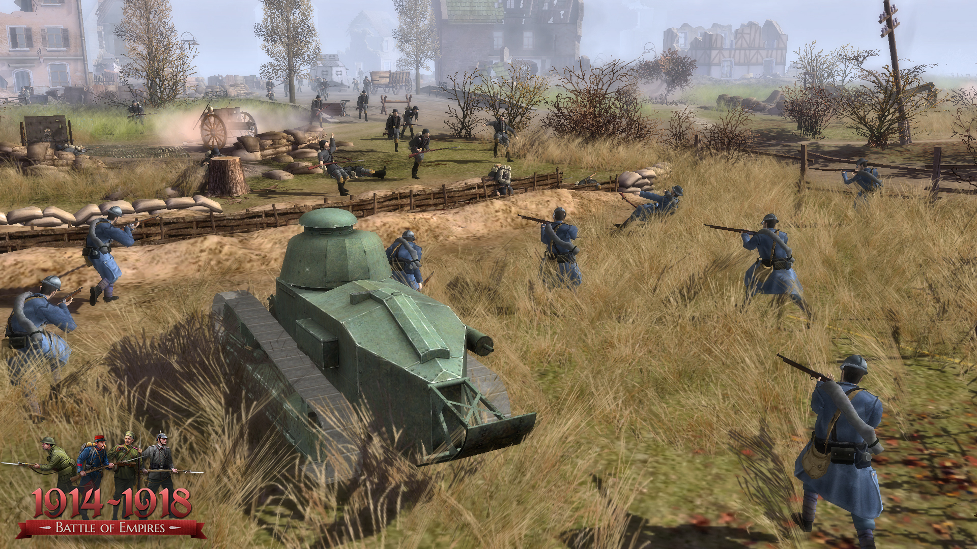Battle of Empires: 1914-1918 - German campaign 2015 pc game Img-3