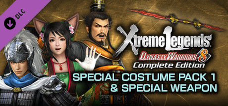 DW8XLCE - SPECIAL COSTUME PACK 1 & SPECIAL WEAPON