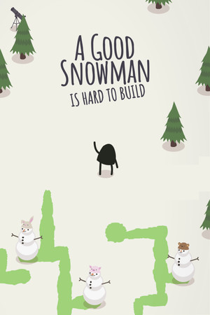 A Good Snowman Is Hard To Build poster image on Steam Backlog