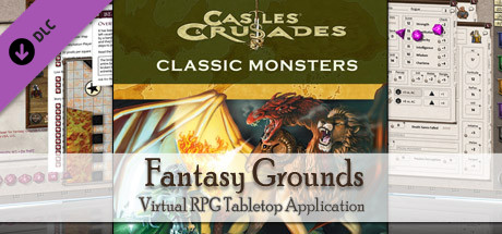 Fantasy Grounds - C&C: Classic Monsters