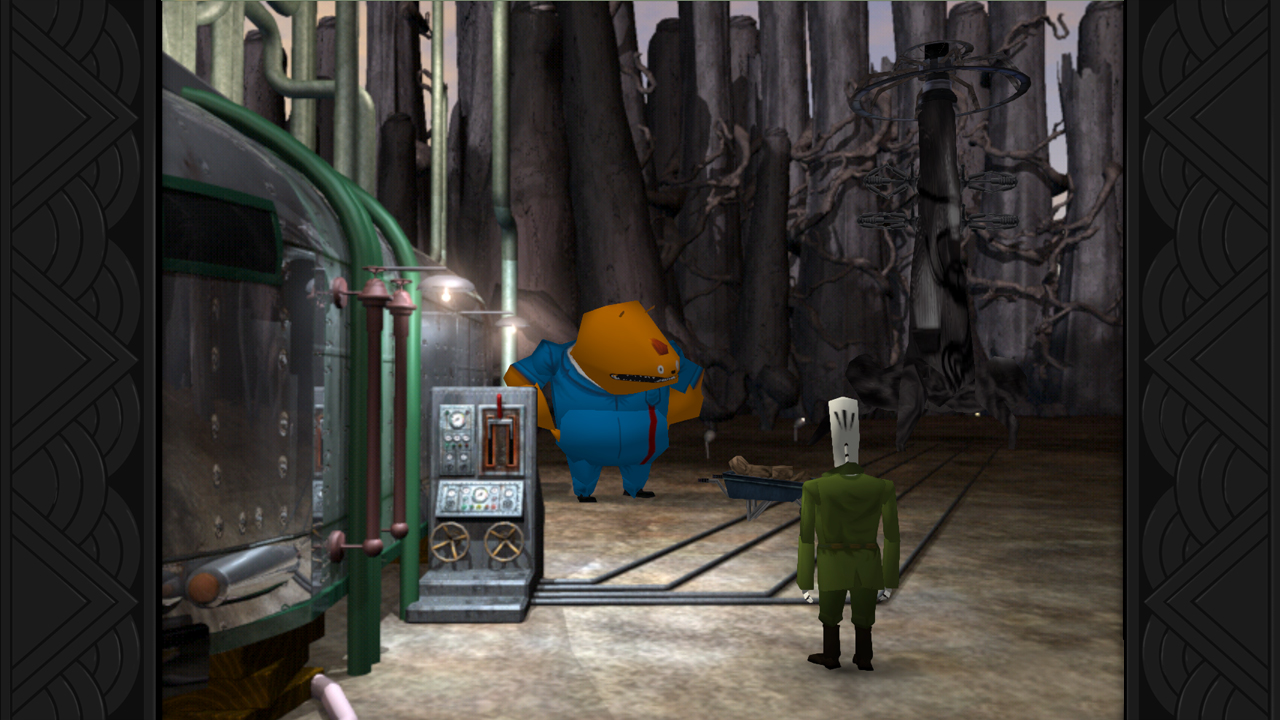 Grim Fandango Remastered screenshot 2