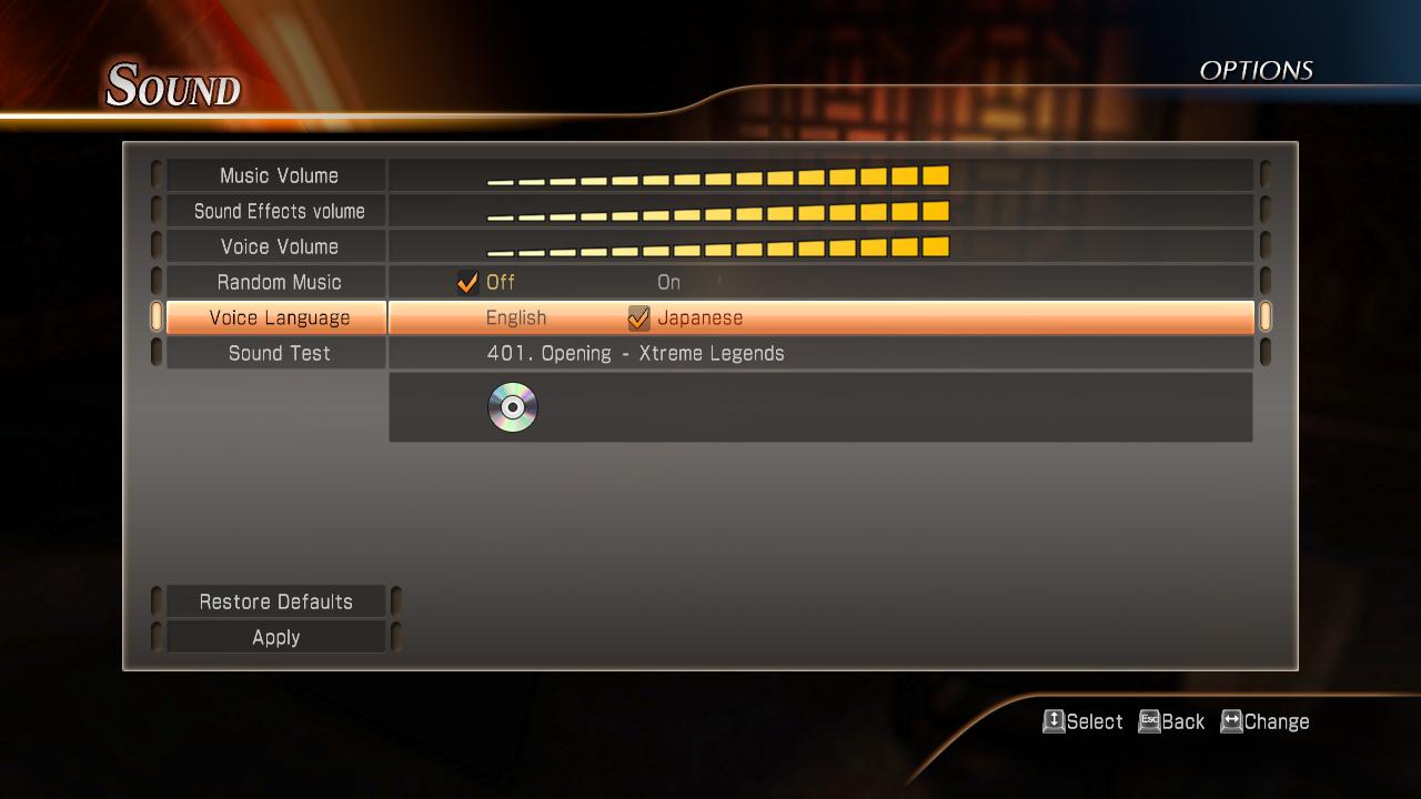 DW8XLCE - JAPANESE VOICE OPTION on Steam