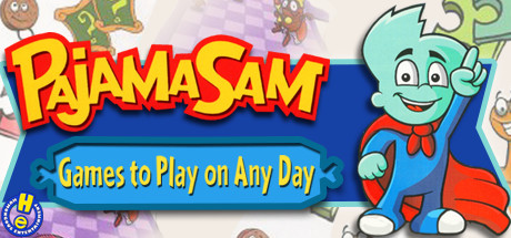 Game Banner Pajama Sam: Games to Play on Any Day