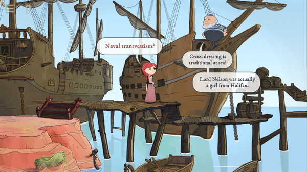 Nelly Cootalot: The Fowl Fleet Screenshot