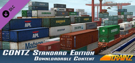 Trainz Simulator DLC: CONTZ Pack - Standard Edition