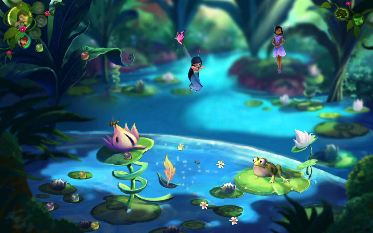 disney fairies tinkerbell adventure game free download