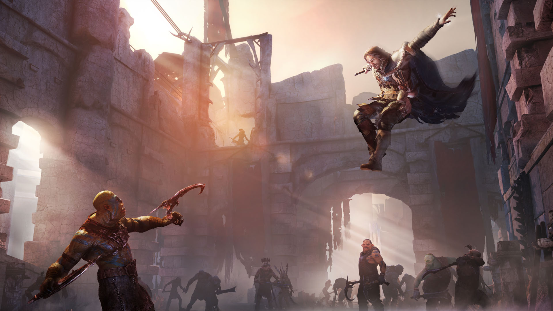 Middle Earth Shadow Of Mordor Test Of Speed On Steam