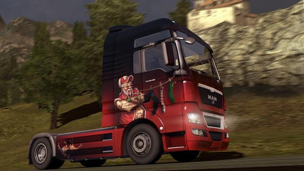Euro Truck Simulator 2 - Christmas Paint Jobs Pack