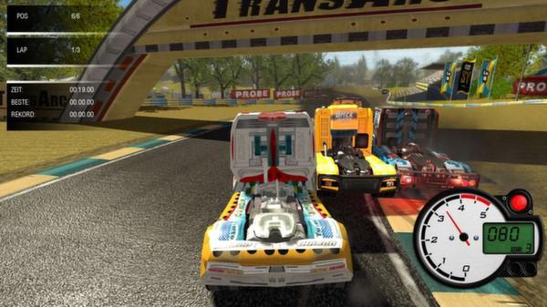 скриншот World Truck Racing 0