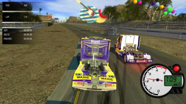 скриншот World Truck Racing 1