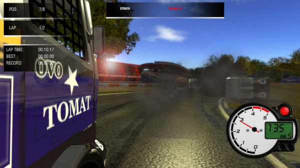 скриншот World Truck Racing 4