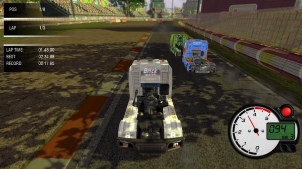скриншот World Truck Racing 2